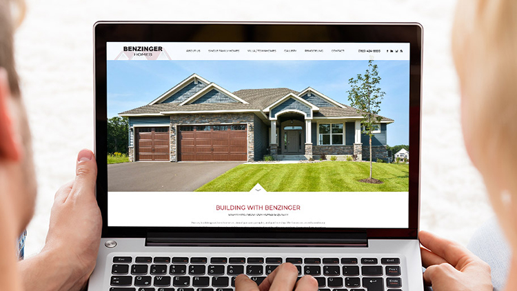 Introducing the New Benzinger Homes New Website